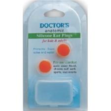 SILICONE EAR PLUGS x 2