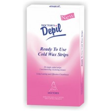 DEPIL COLD WAX STRIPS FOR BODY
